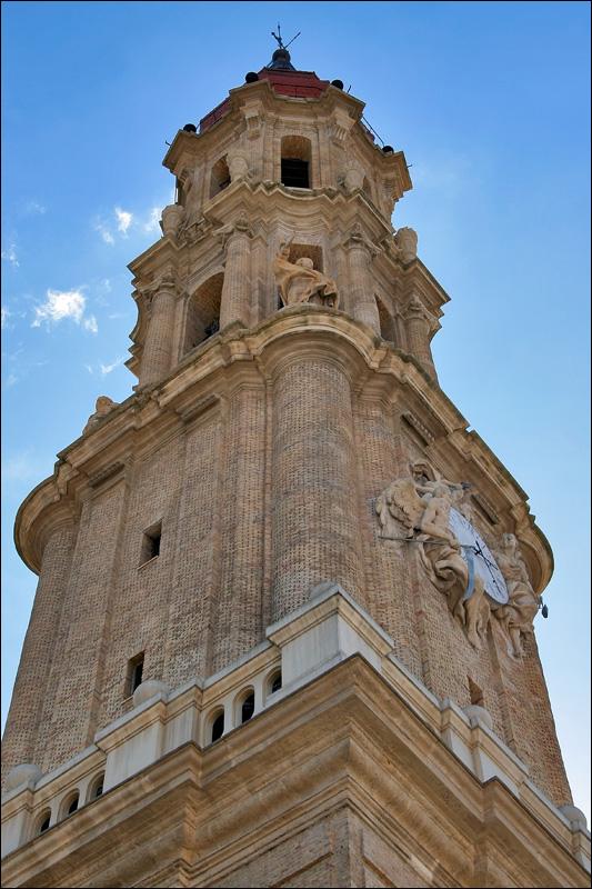 Башня Собора Ла Сео, Сарагоса