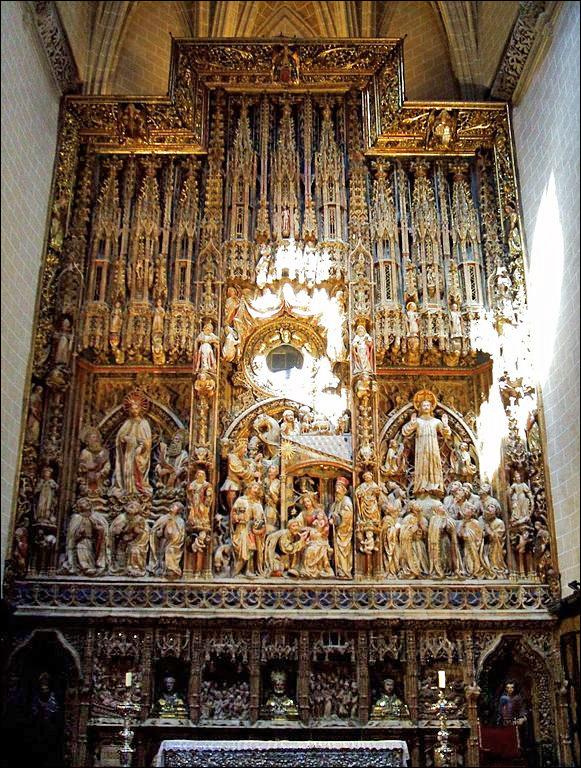 Алтарь собора Ла Сео, Сарагоса