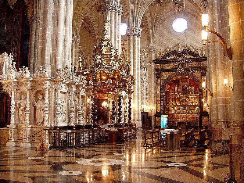 Внутреннее убранство собора Ла Сео, правый трансепт, Сарагоса