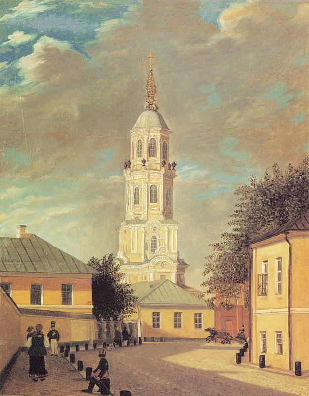 Меншикова башня в середине XIX века