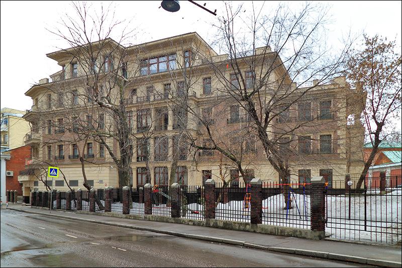 Клубный дом корпорации «Баркли» по 2-му Зачатьевскому пер.