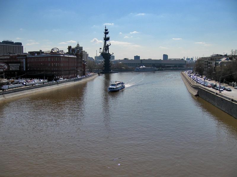 Москва-река, вид с Патриаршего моста