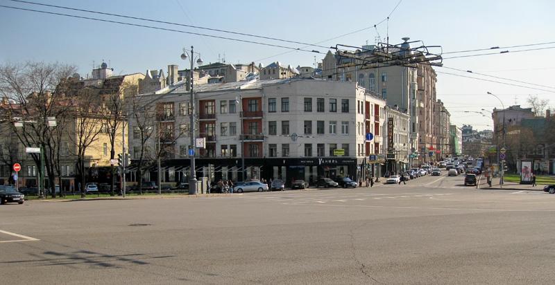 Площадь Пречистенских ворот