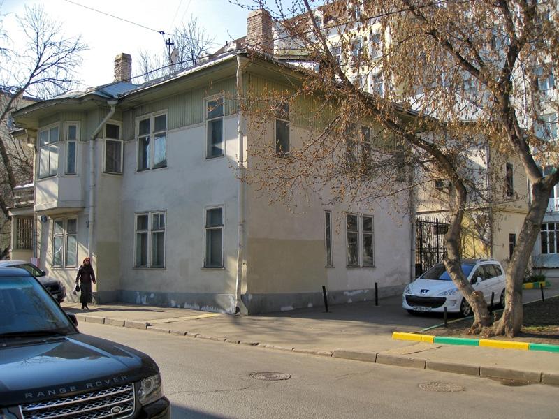 Дом писателя С.Д.Мстиславского