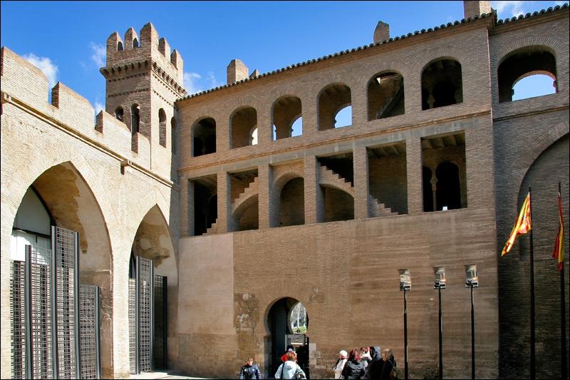 Двор Сан-Мартин дворца Альхаферия, Сарагоса