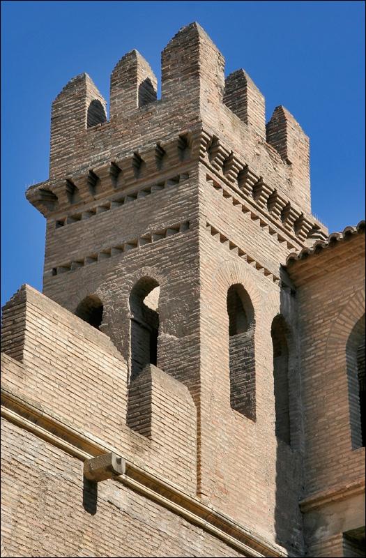 Крепостная башня дворца Альхаферия, Сарагоса
