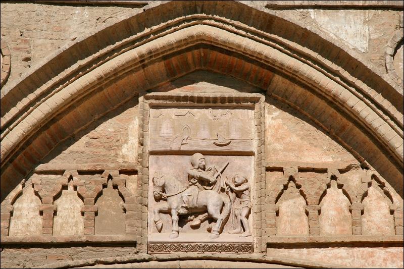 Дворец Альхаферия, деталь, Сарагоса