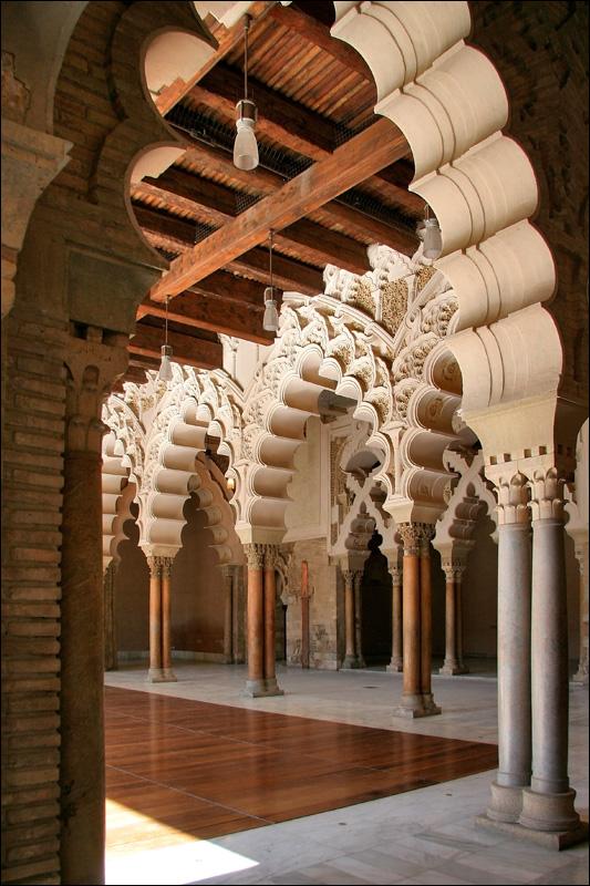 Дворец Альхаферия, Золотой зал, Сарагоса