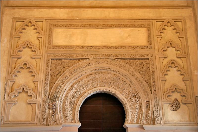 Дворец Альхаферия, портал, Сарагоса