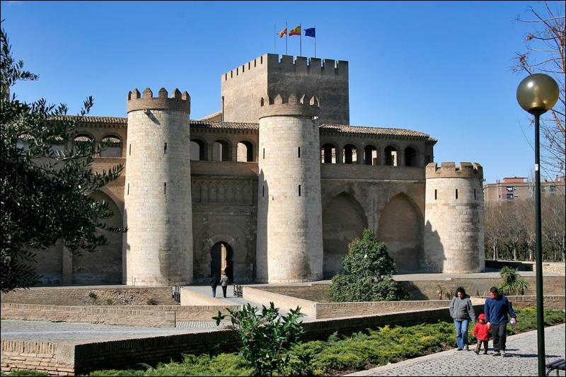 Сарагоса, Дворец Альхаферия