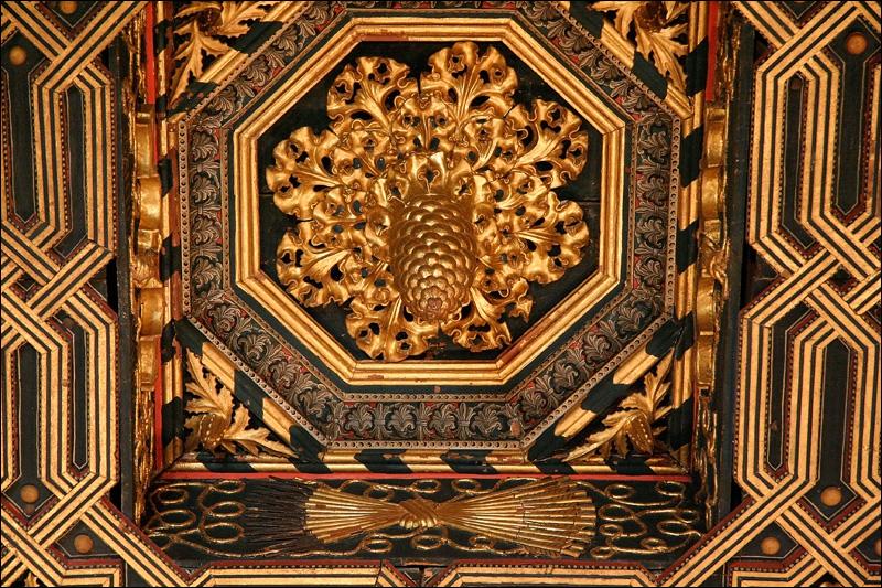 Дворец Альхаферия, потолок Тронного зала, Сарагоса
