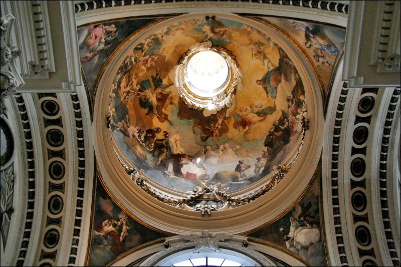 Сарагоса, Росписи Кафедрального собора Богоматери Пилар
