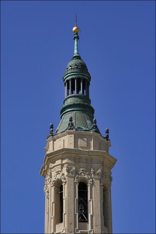 Башня Базилики Богоматери Пилар