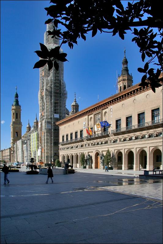 Площадь дель Пилар и Базилика-де-Нуэстра-Сеньора-дель-Пилар