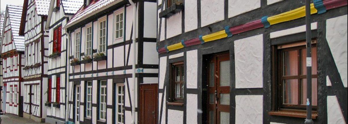 Фахверковые дома в Падерборне