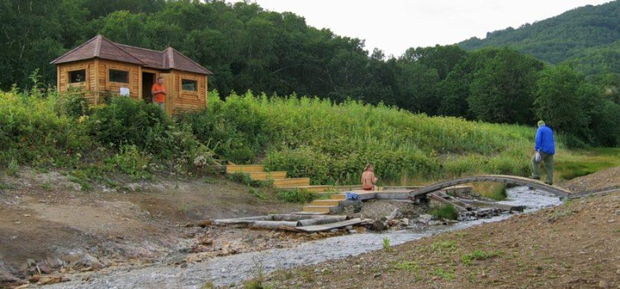 Таловские источники в парке Налычево