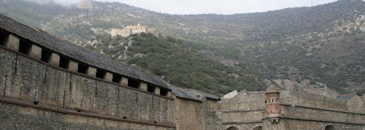 Вильфранш-де-Конфлан и Форт Либерия в Восточных Пиренеях