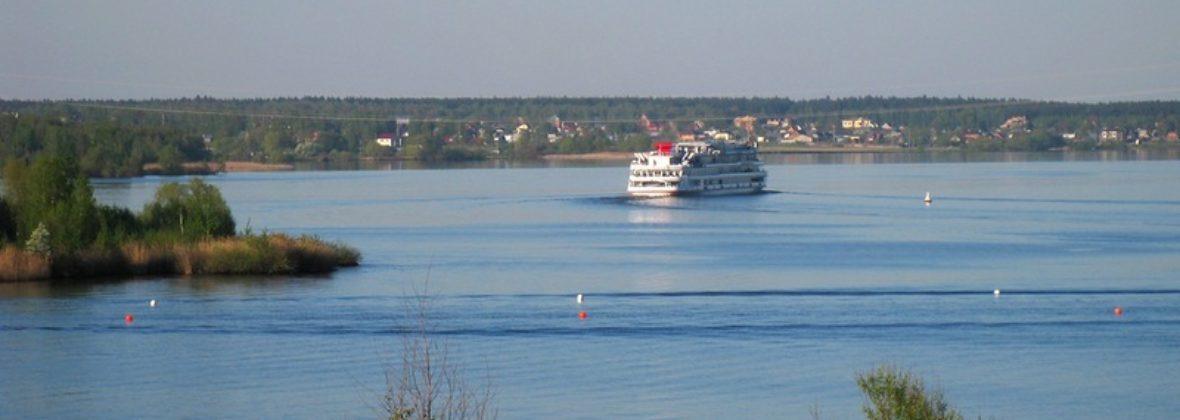 На Клязьминском водохранилище