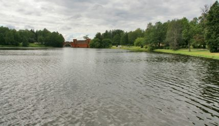 Усадьба Марфино: пруды и парк