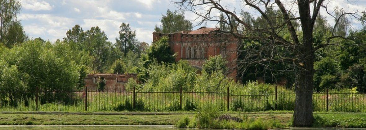 Усадьба Марфино: Конный двор, Каретный сарай и Дом управляющего