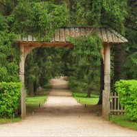 Пушкинские горы. Часть 2: Парк в Михайловском