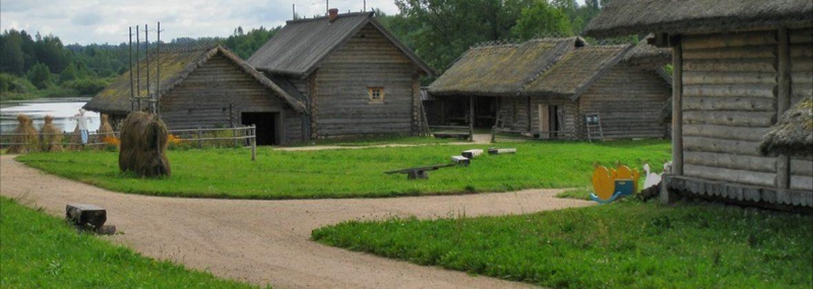 Пушкинские горы. Часть 6: деревня пушкинского времени и мельница в Бугрово