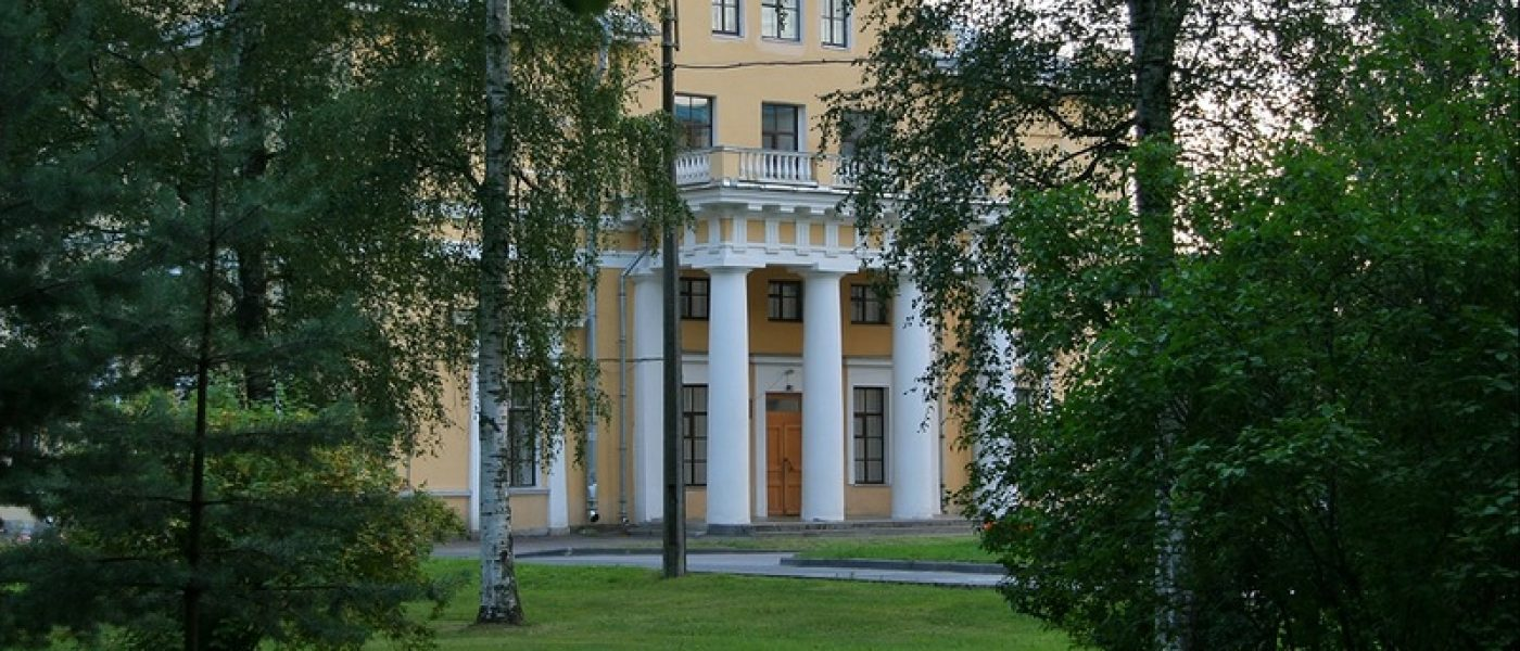 Богадельня (Инвалидный дом), Мариинская церковь и Докторский дом в Павловске