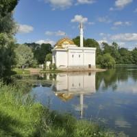 Турецкая баня в Екатерининском парке Царского Села