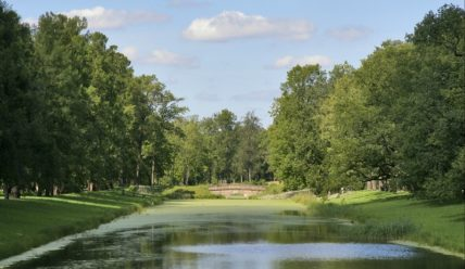 Пейзажный (Английский) парк Екатерининского парка Царского Села, часть 2