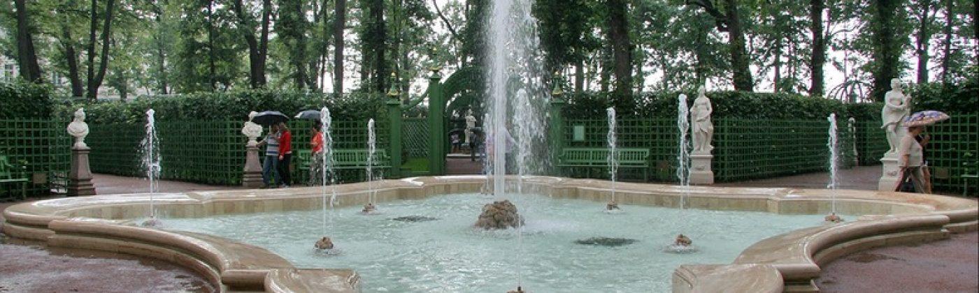 Летний сад в Санкт-Петербурге: возвращение в XVIII век