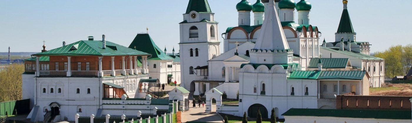 Вознесенский Печерский мужской монастырь в Нижнем Новгороде