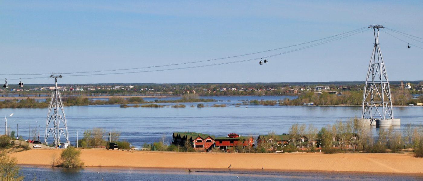 Нижегородская канатная дорога: между небом и водой
