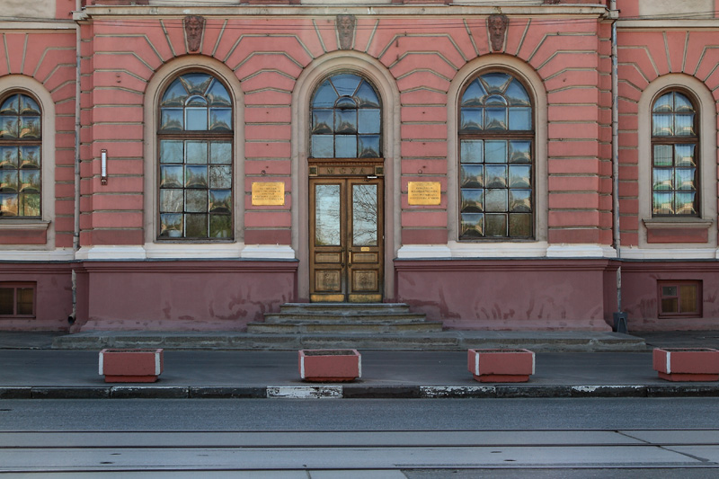 Фасад главного административного корпуса Тимирязевской академии