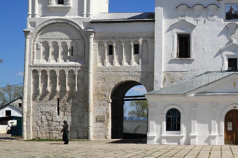 замок Андрея Боголюбского, Боголюбово, Свято-Боголюбский женский монастырь