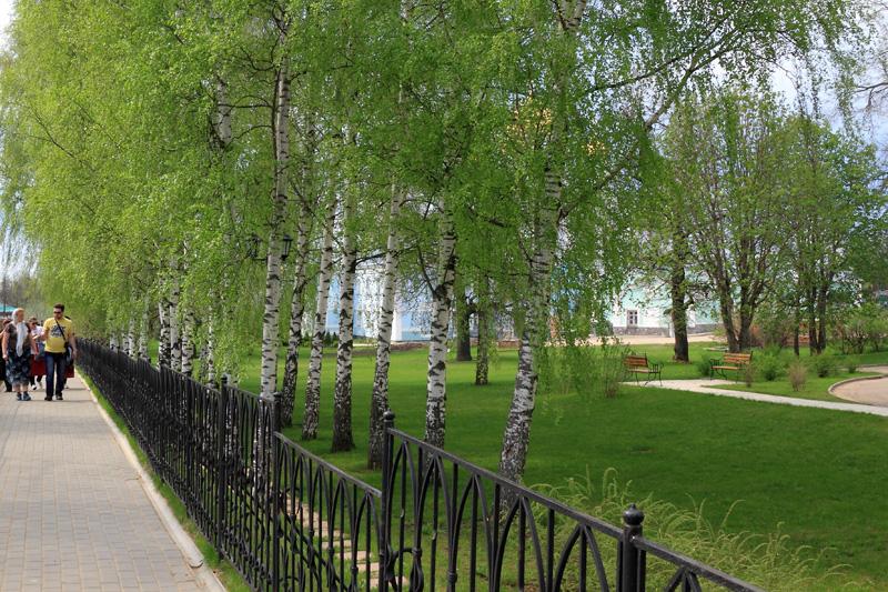 Свято-Троицкий Серафимо-Дивеевский монастырь, Святая Канавка и строения монастыря
