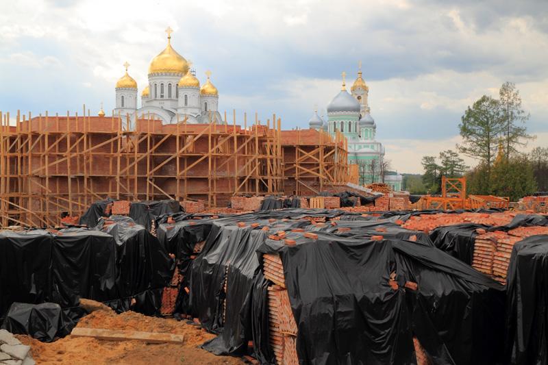 Свято-Троицкий Серафимо-Дивеевский монастырь, строительство нового собора