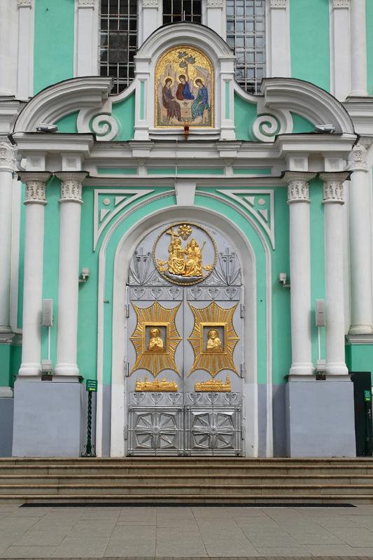 Свято-Троицкий Серафимо-Дивеевский монастырь, Троицкий собор, деталь