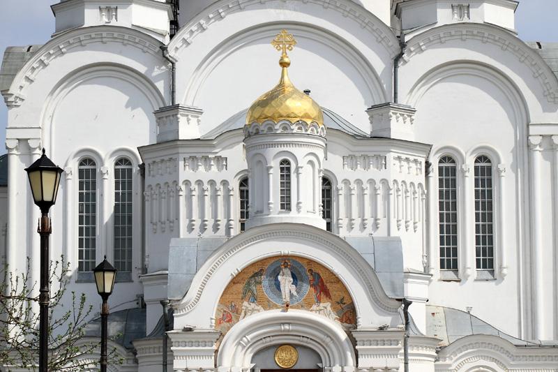 Свято-Троицкий Серафимо-Дивеевский монастырь, Спасо-Преображенский собор, деталь