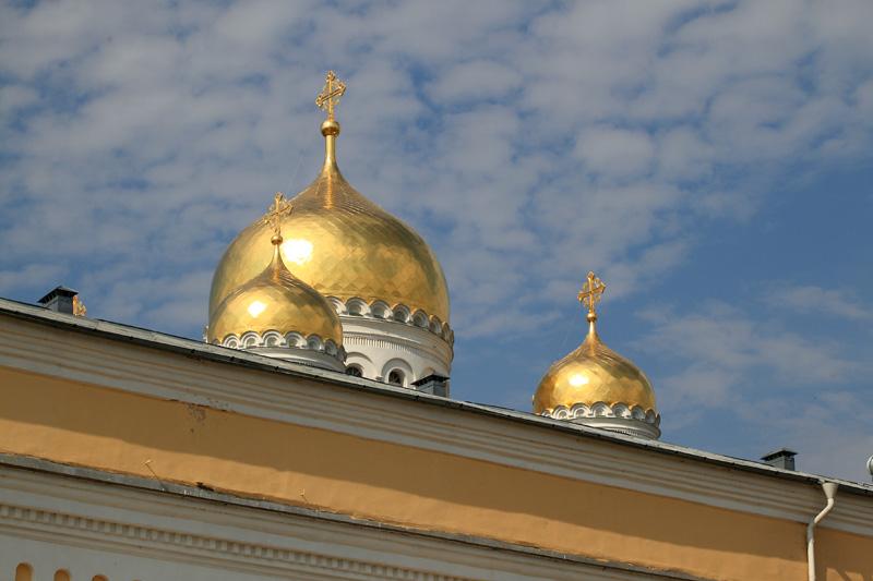 Свято-Троицкий Серафимо-Дивеевский монастырь, купола Спасо-Преображенского собора