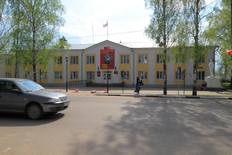 Дивеево, здание мэрии