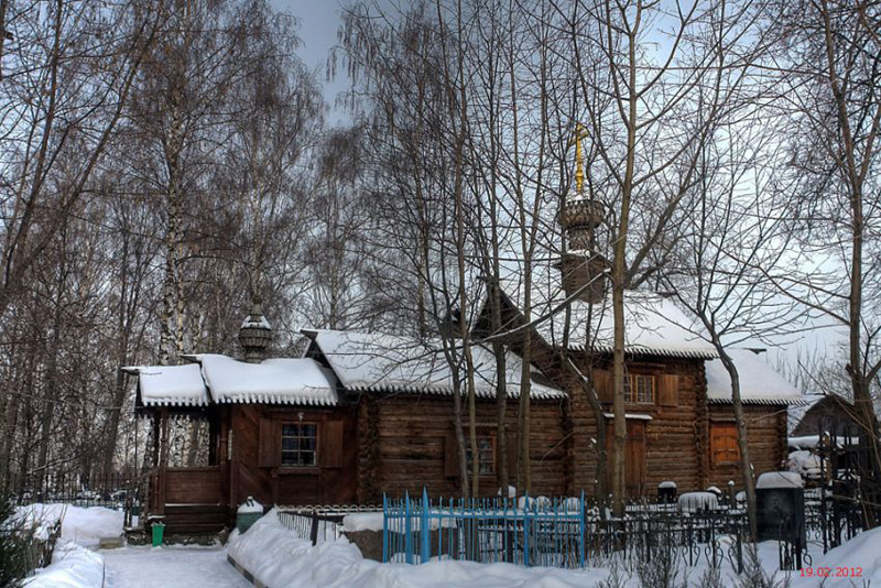 Храм Георгия Победоносца в Старбеево