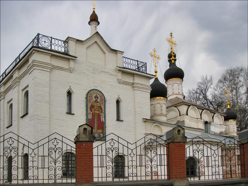 Храм Спаса Нерукотворного в селе Котове