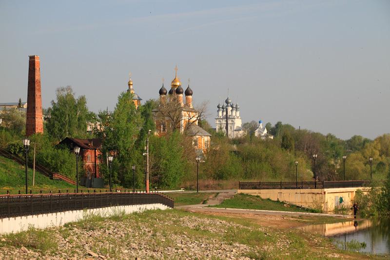 Муром, Никольская церковь и Свято-Благовещенский мужской монастырь