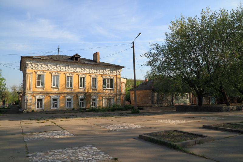 Муром, старые дома по Первомайской улице