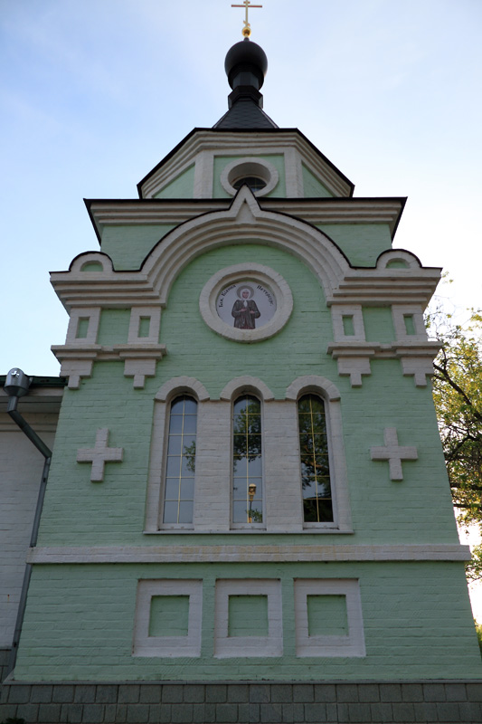 Муром, Спасо-Преображенский мужской монастырь, часовня Ксении Петербургской