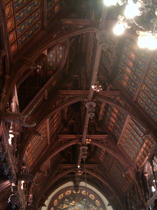 Дворец Бенедиктина, своды Готического зала