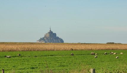 Прогулка по аббатству Мон-Сен-Мишель