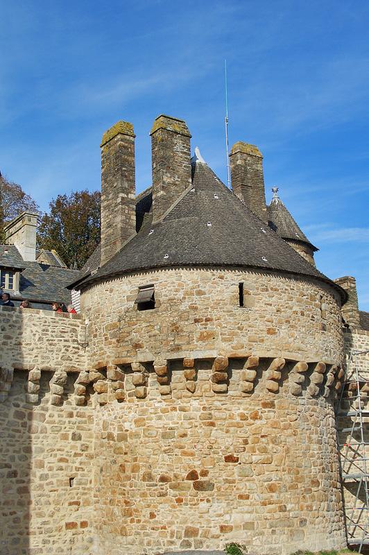 Мон-Сен-Мишель, крепостная башня