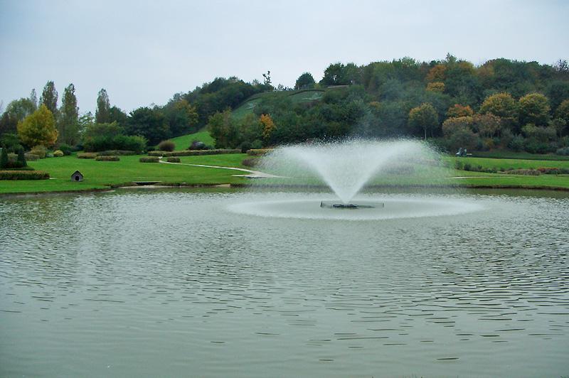 Парк на месте бывшей свалки в городе Кан (Нормандия, Франция)