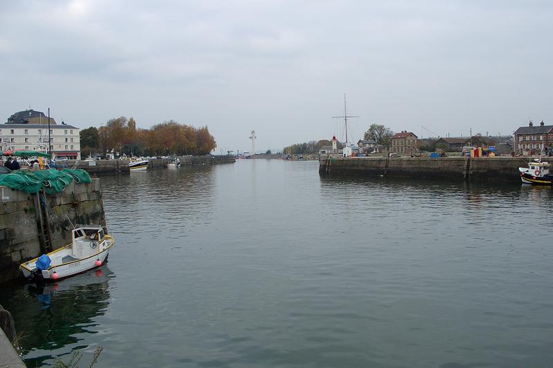 Онфлёр, Рыбный порт